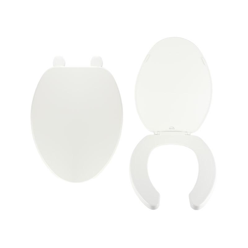 Asiento para wc alargado blanco marca Bemis 175AR