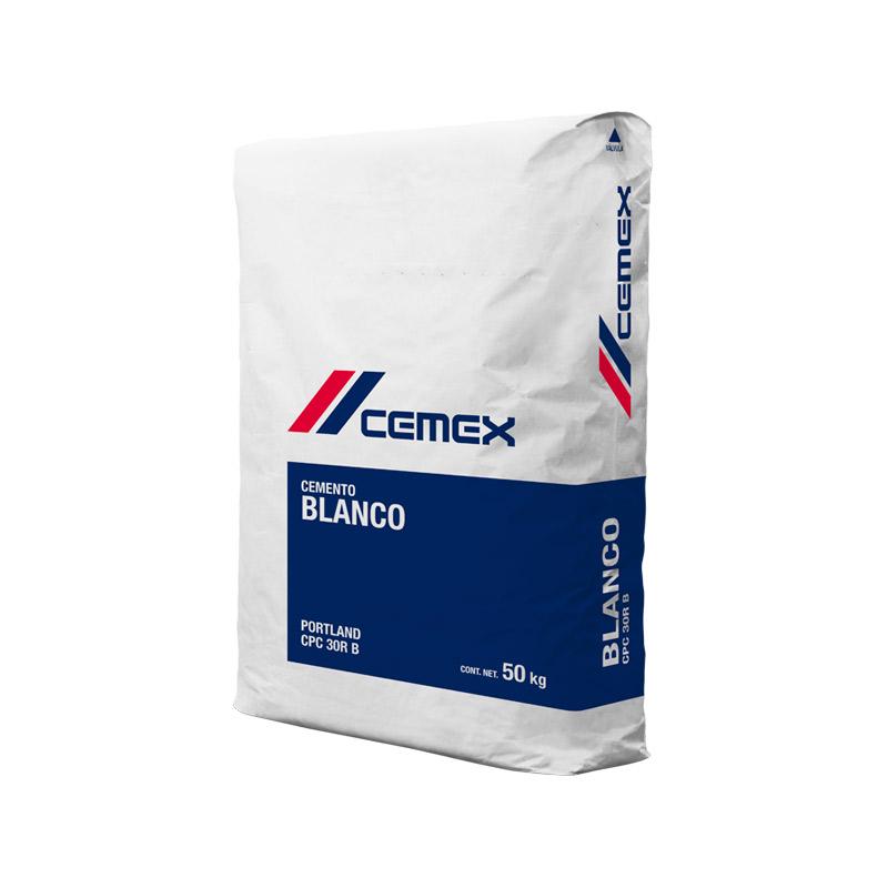 Cemento blanco Monterrey 50 kg