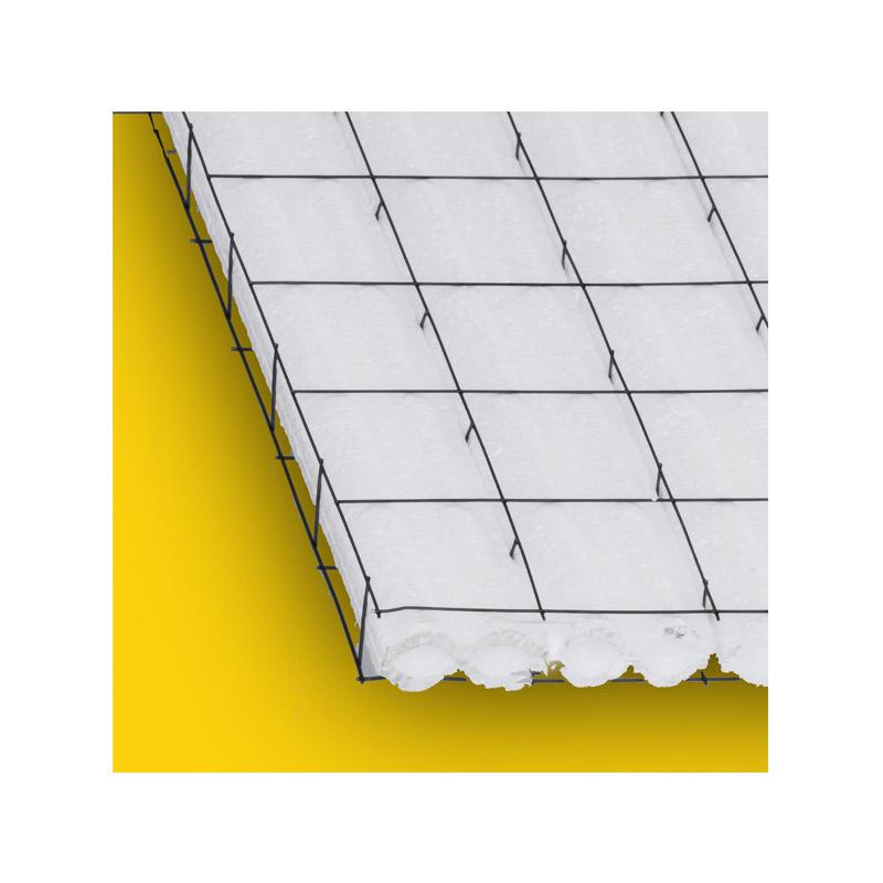Panel W Divisorio Poliestireno 5 cm 2 in 1.22 x 2.44 ml