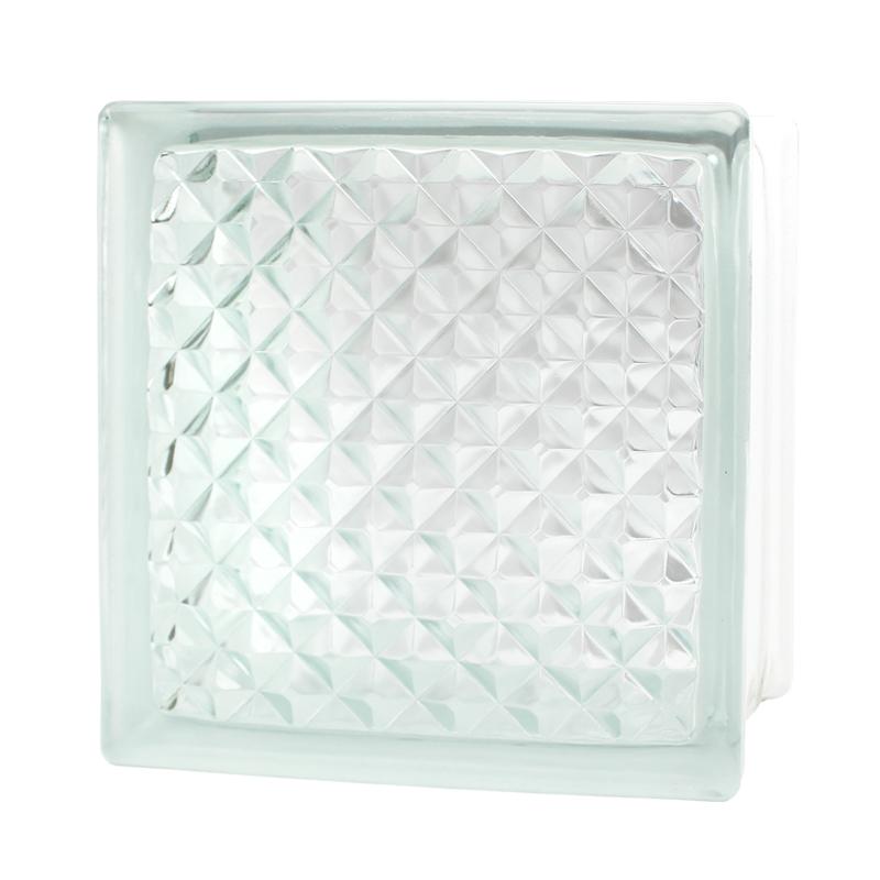 Vidrio Block Lattice Marca Fontibre 19x19x8 cm