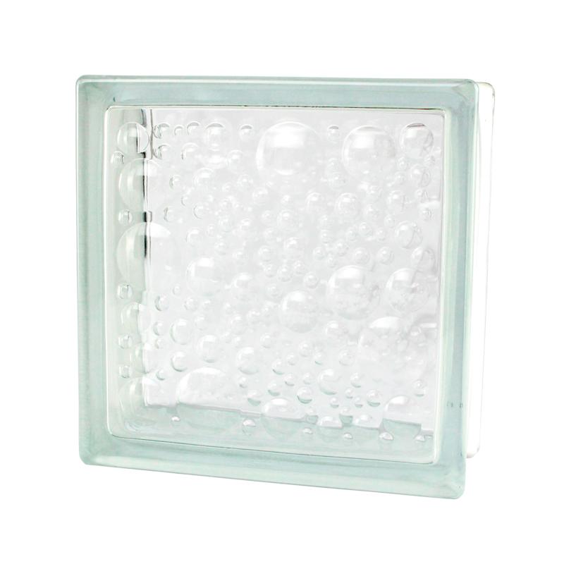 Vidrio Block burbuja Marca Fontibre 19 x 19 x 8 cm