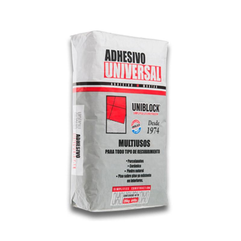 adhesivo universal uniblock