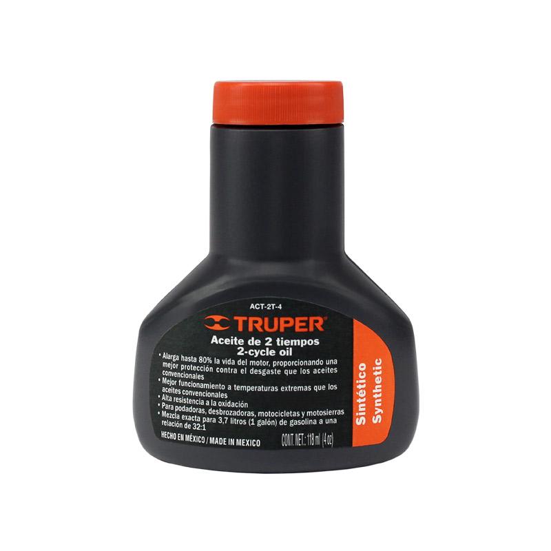 aceite motor 2 tiempos 4 oz truper