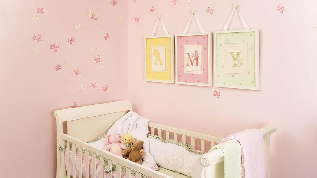 consejo para pintar pared de bebe