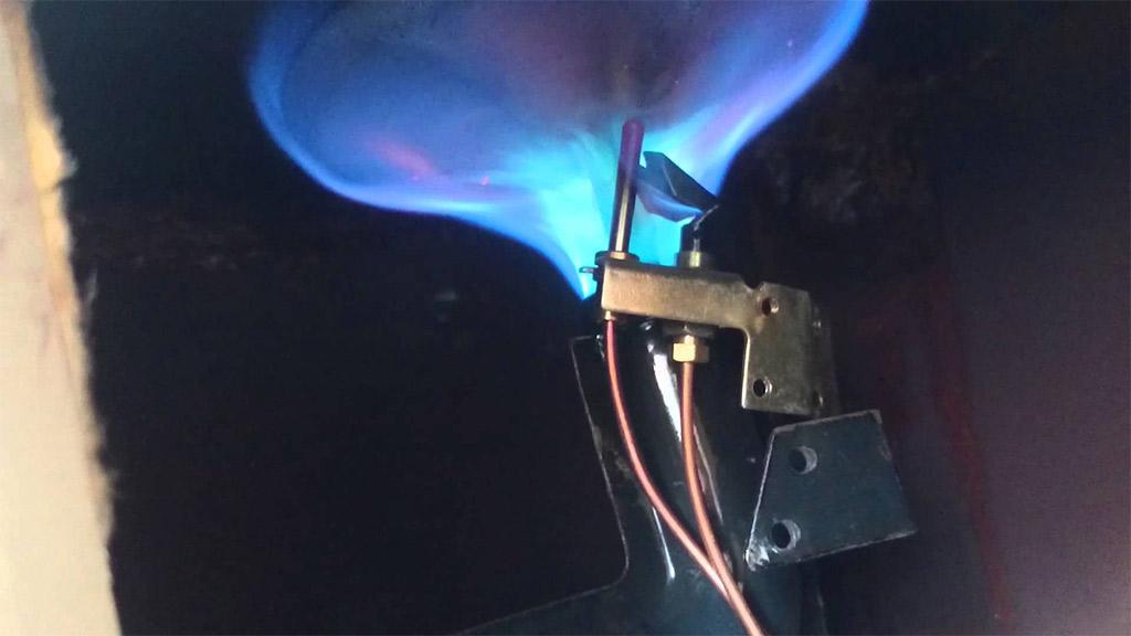 falla de un boiler