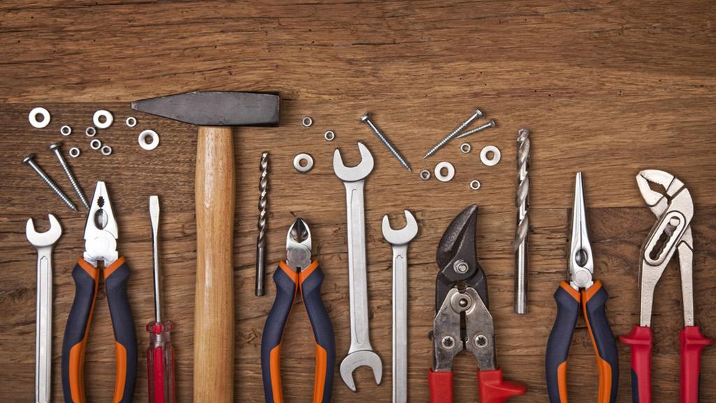 herramientas de carpinteros