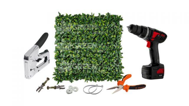 herramientas-para-instalar-jardin-artificial