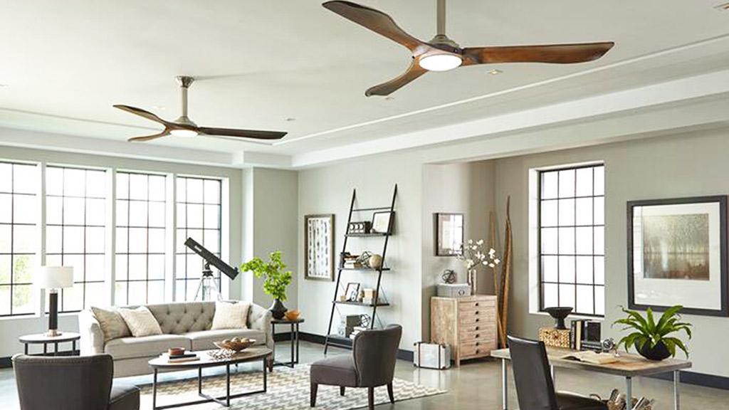 como elegir el ventilador de techo correcto