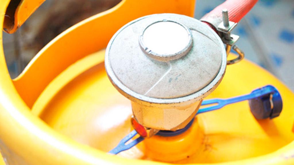 como instalar un cilindro de gas