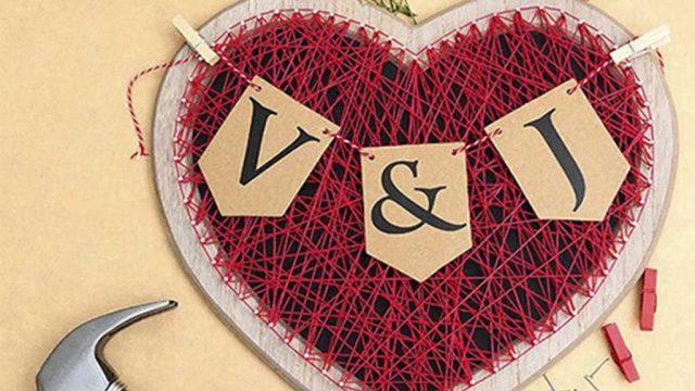 regalo hecho a mano para san valentin