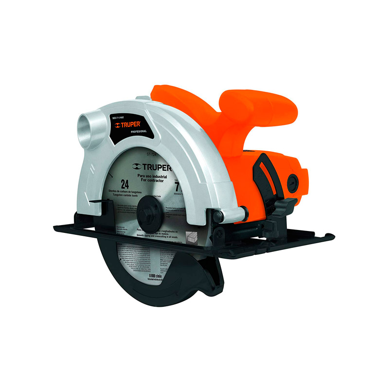 Sierra circular Truper 7 1422 profesional 1200 W