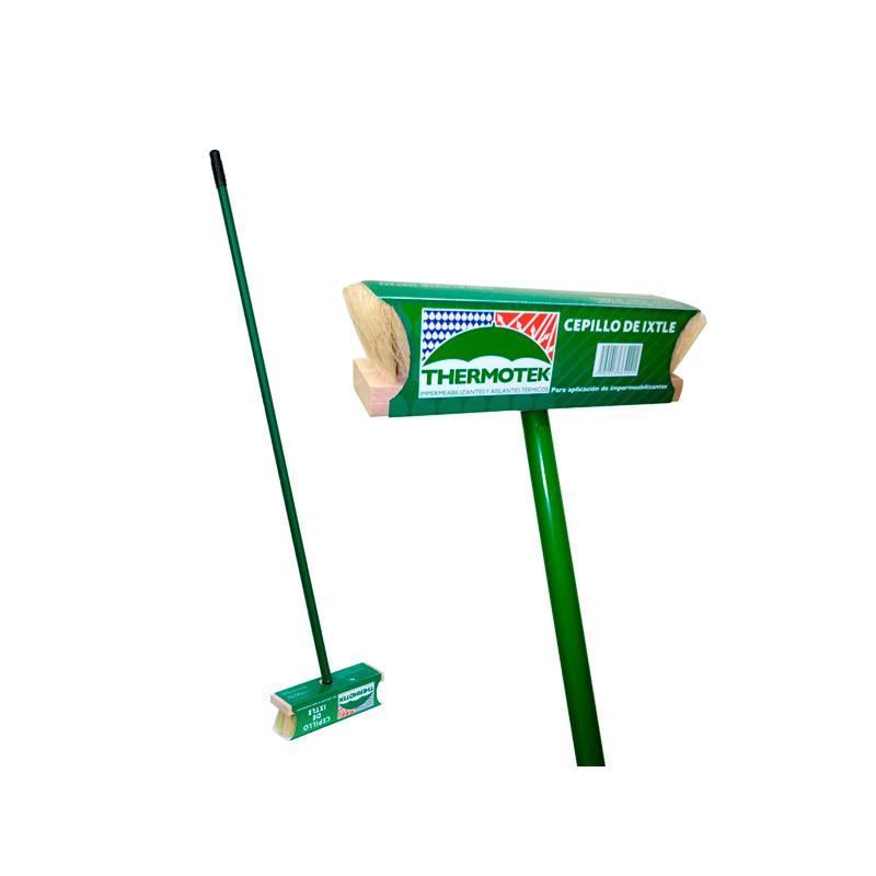 cepillo ixtle para impermeabilizar marca thermotek