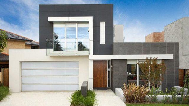 fachada-minimalista-gris-y-blanco
