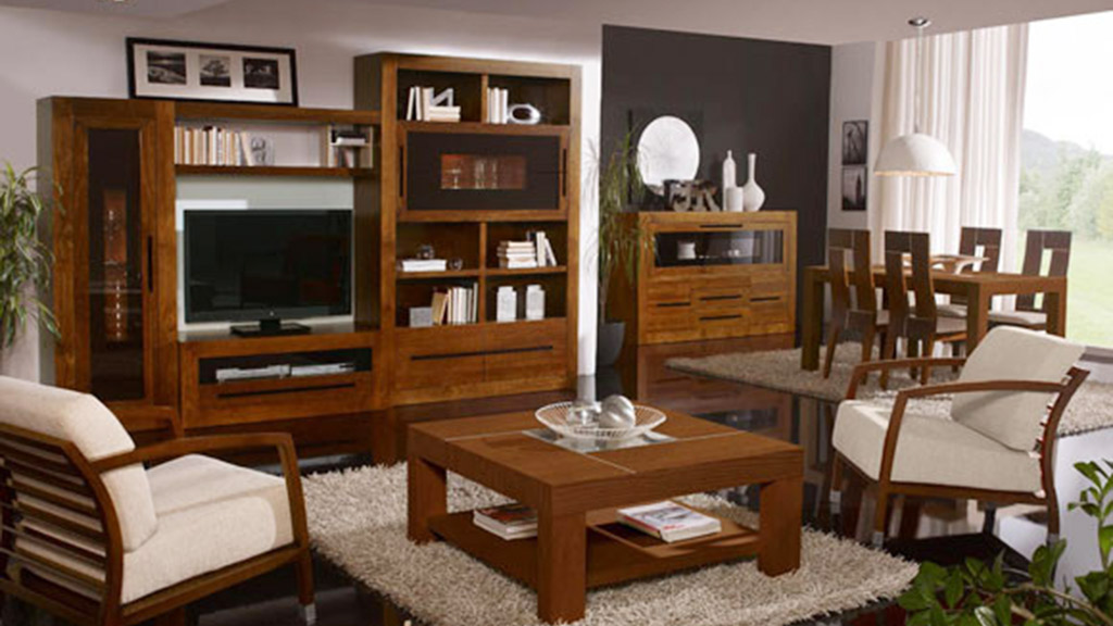muebles de derivados de madera