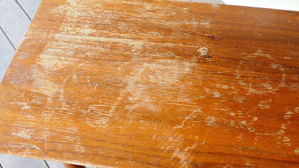 quitar manchas de la madera