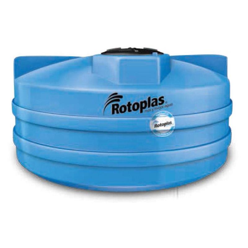 Cisterna Rotoplas Sin Equipo 2800L 1.86X1.18M 10 Personas