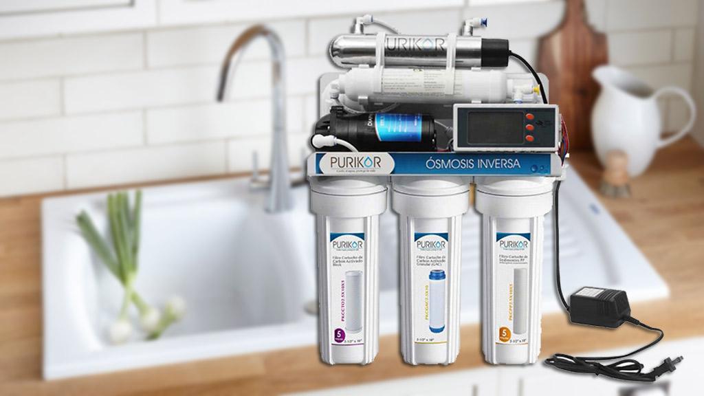 filtro de osmosis inversa 6 pasos