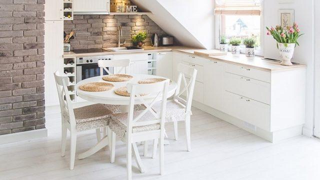 Pisos y azulejos para cocinas pequeñas
