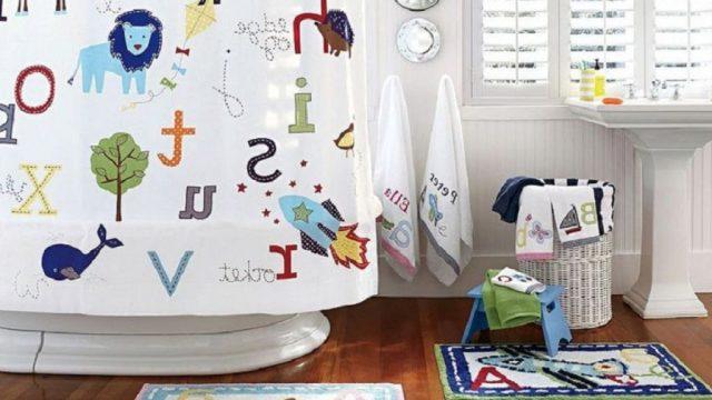 Decoración de baños para niños