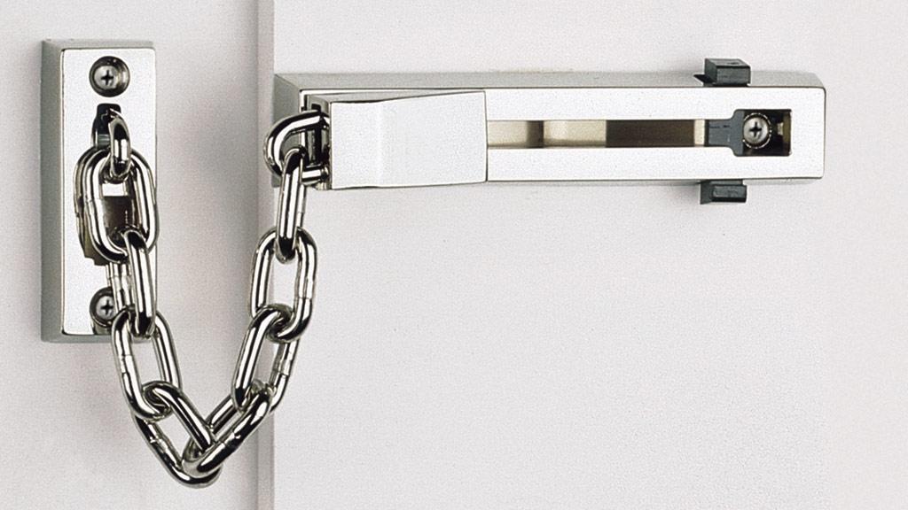 seguridad cadena para puerta