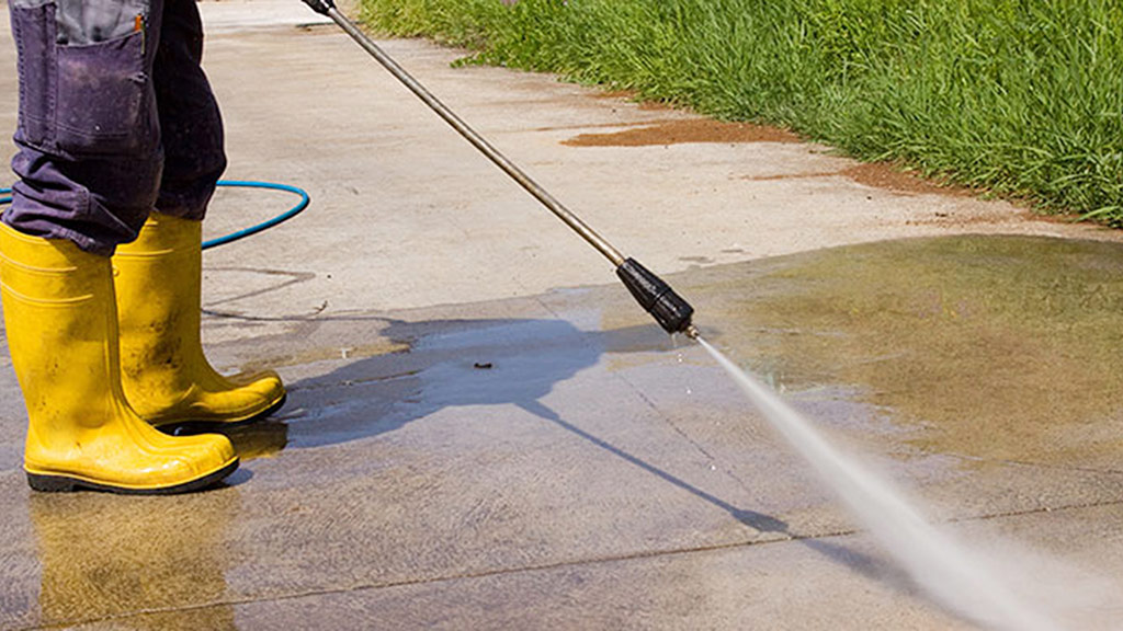 usar hidrolavadora