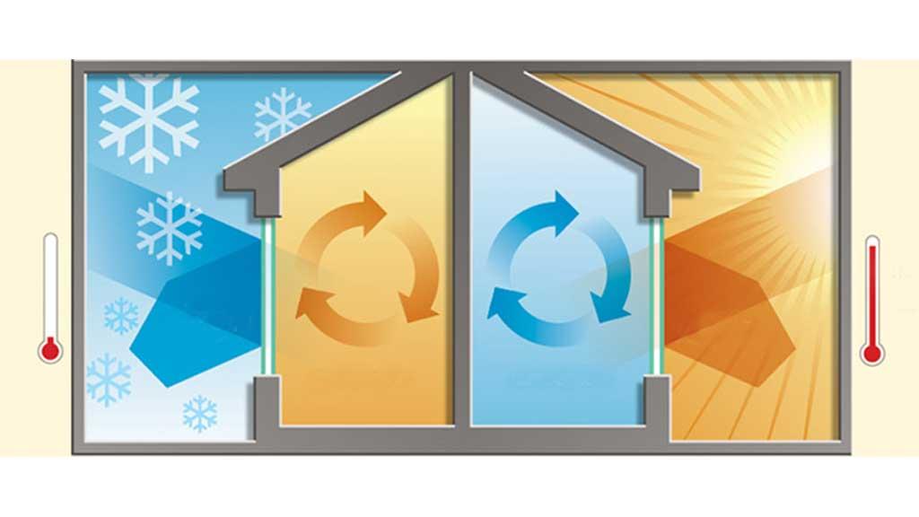 aislar la casa del calor y frio
