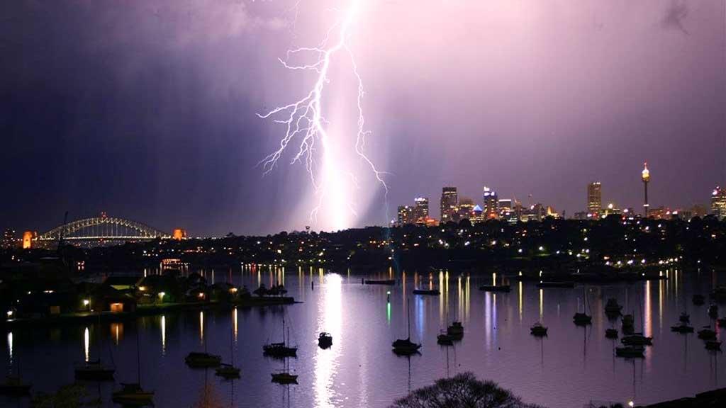pararrayos para tormenta electrica