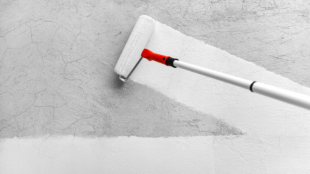 aplicar sellador en pared