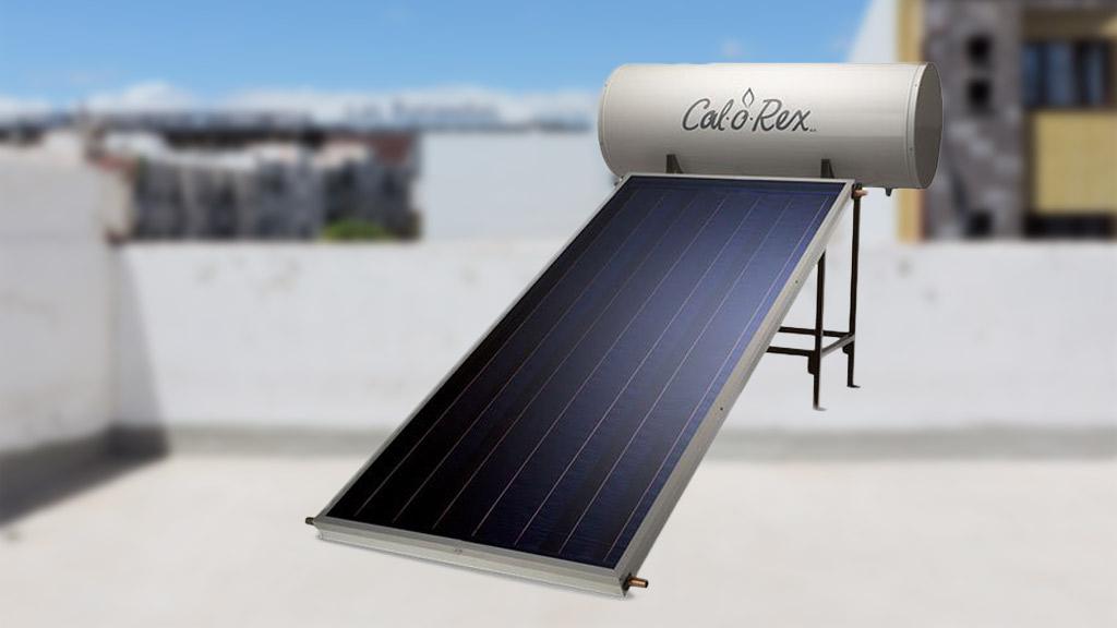 calentador solar sirve