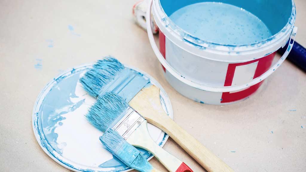 salpicar pintura