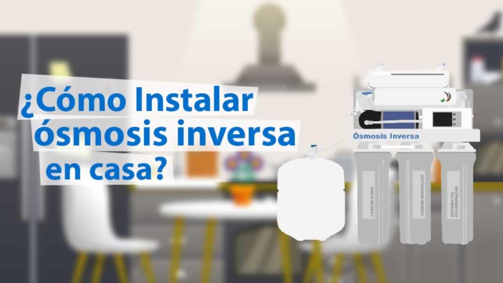 instalar osmosis inversa