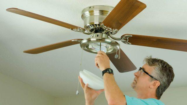 Beneficios de un ventilador de techo.