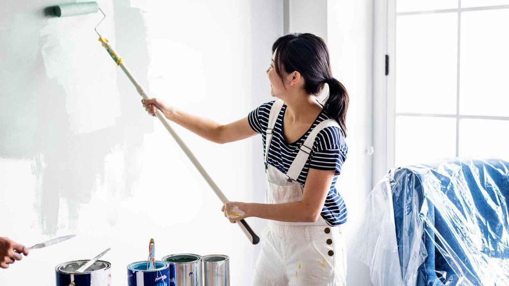 Pinte las paredes de su hogar como todo un profesional3