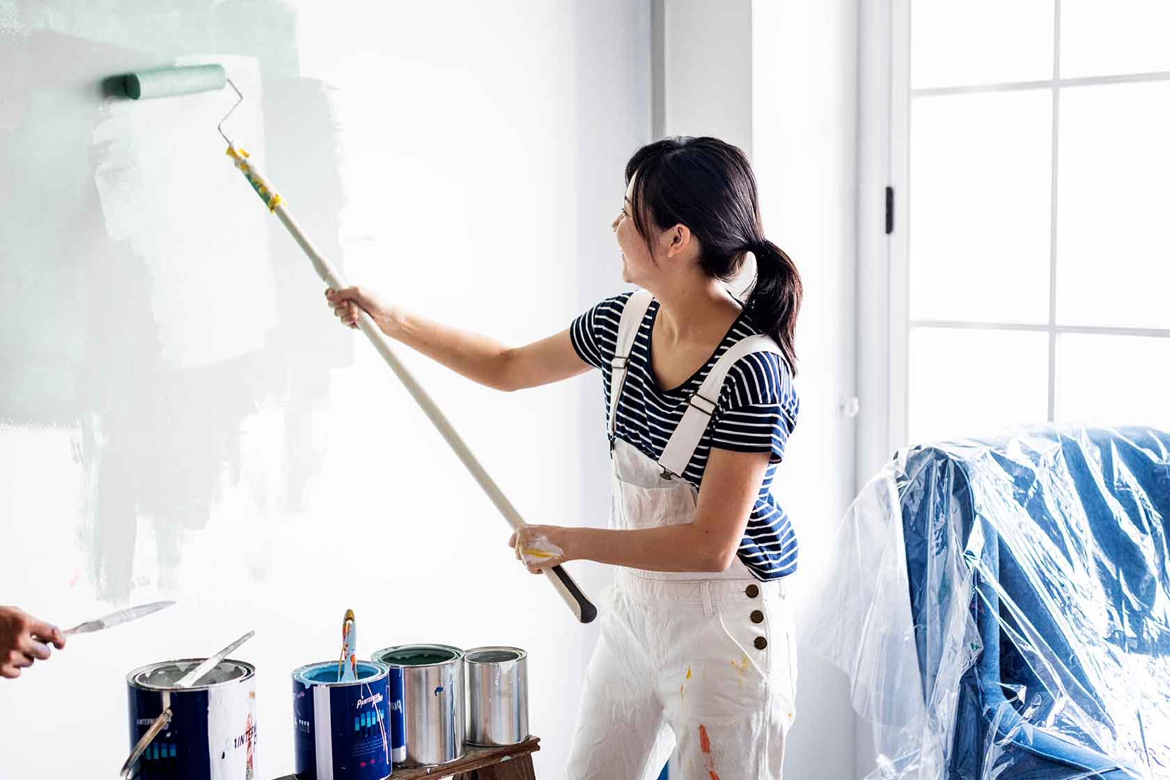 ¿Cómo elegir una brocha o un rodillo ideal para pintar