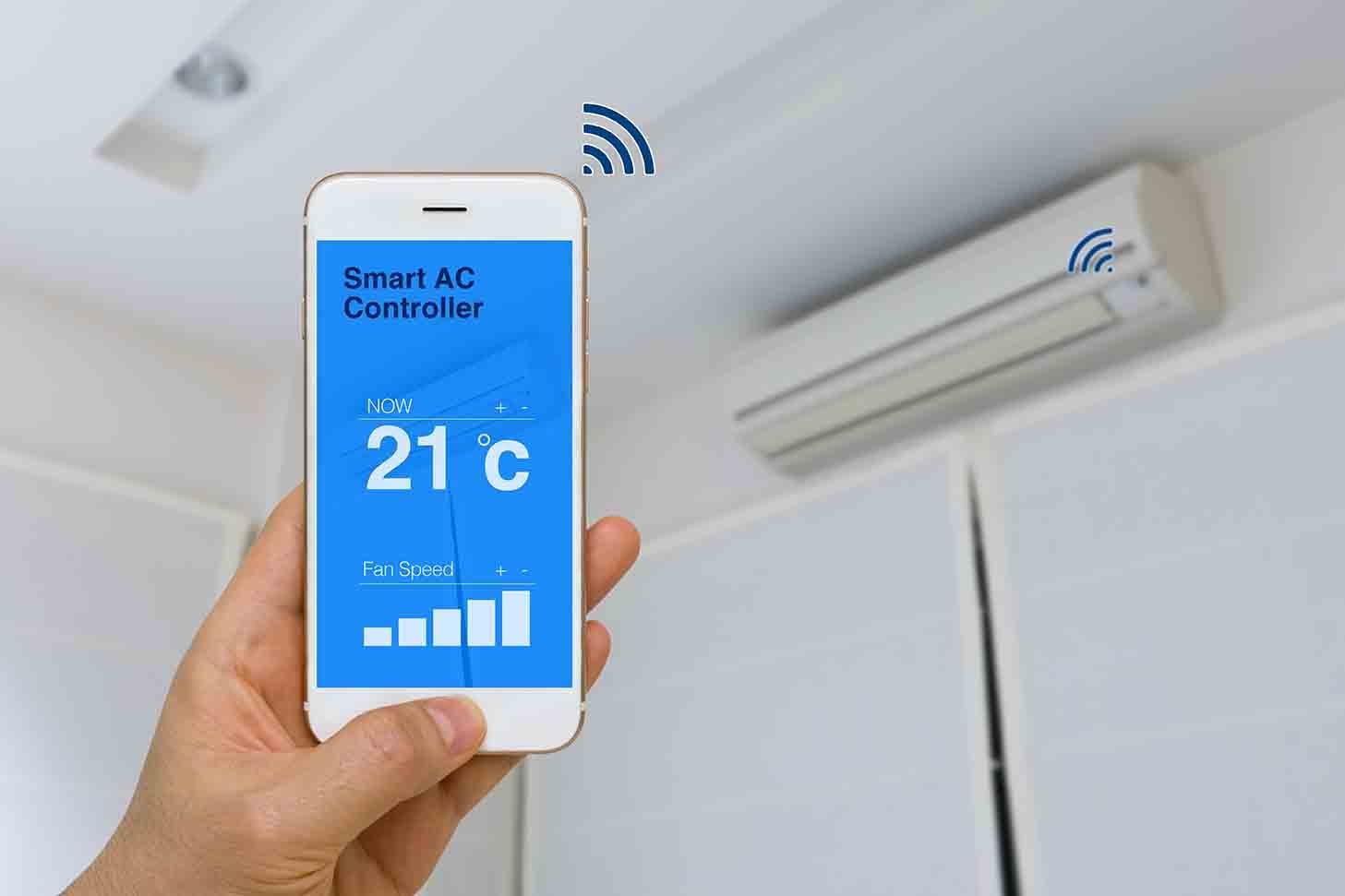 Beneficios de tener un aire acondicionado con wifi