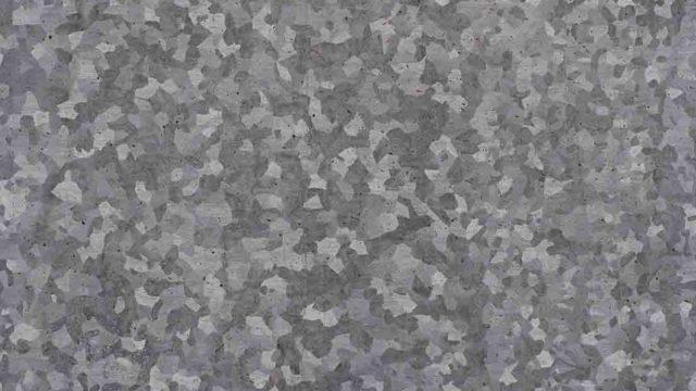 Tipos de floreados en las láminas galvanizadas
