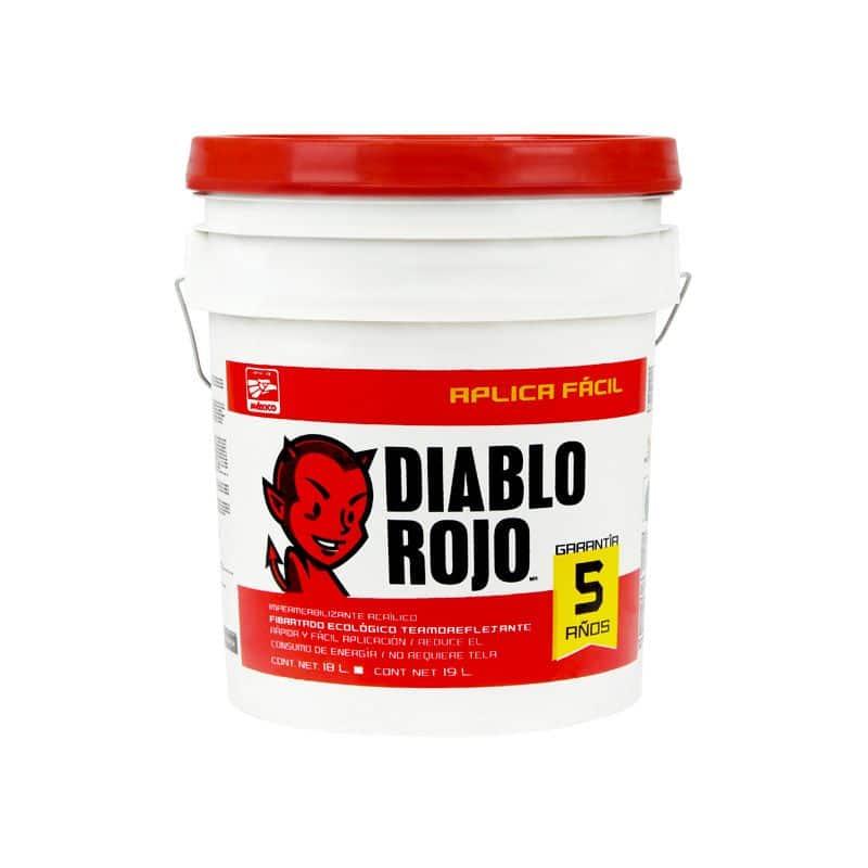 Diablo rojo el impermeabilizante ideal para tu hogar