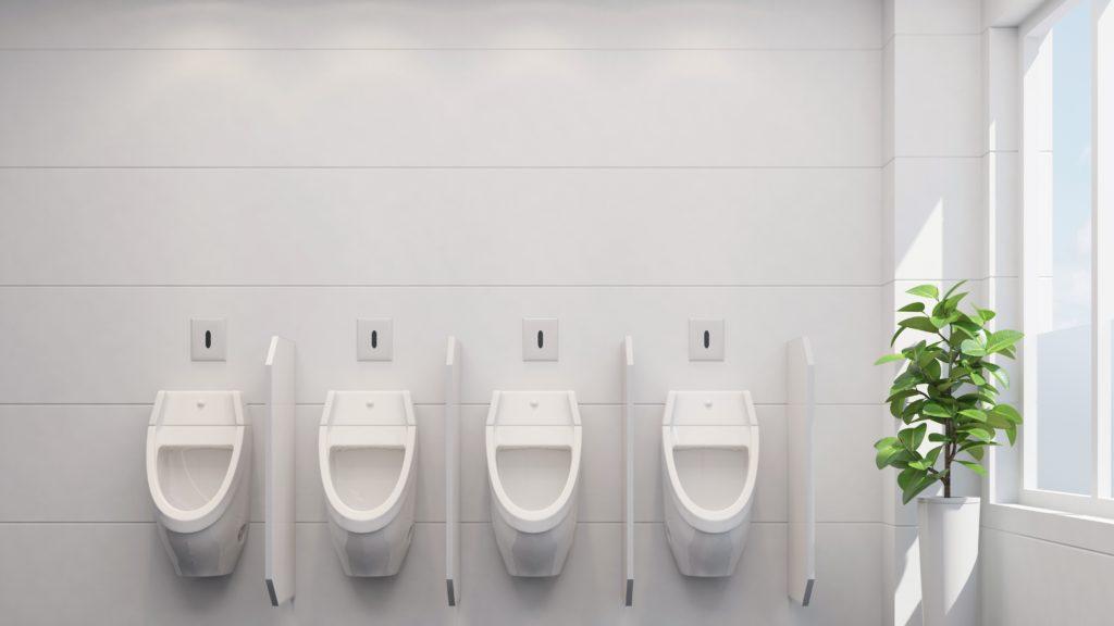 Mingitorios secos ideales para el ahorro de agua