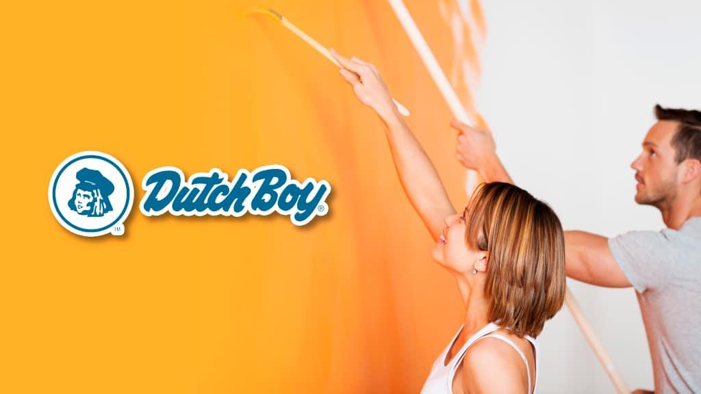 DUTCH BOY es la marca de pinturas ideal para ti