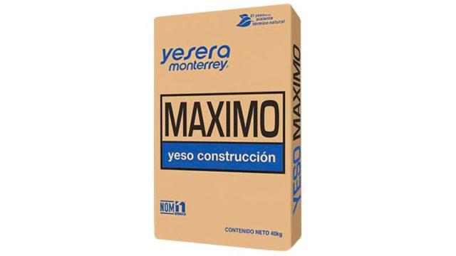 Yeso Máximo ideal para tus proyectos