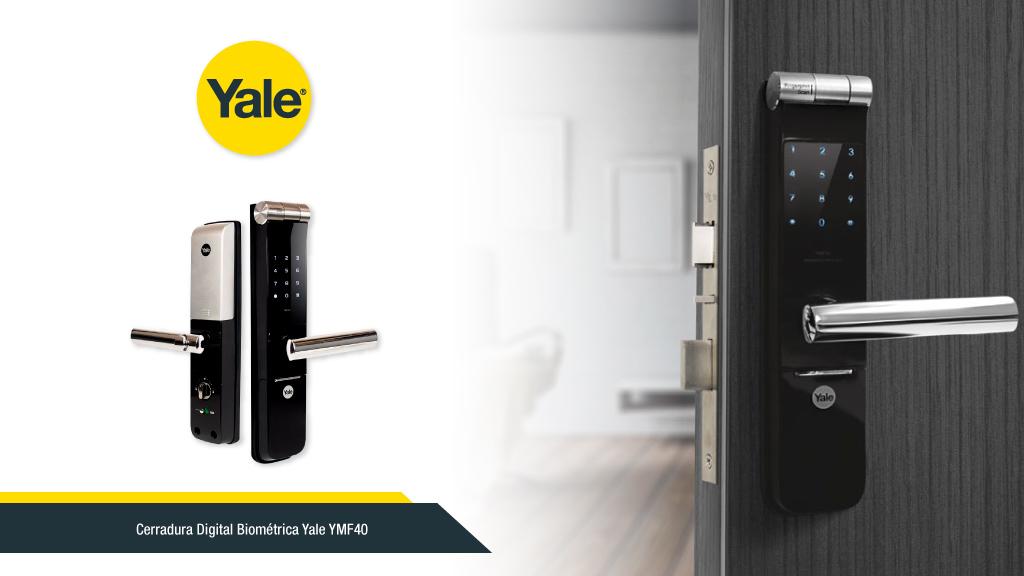 Formas de abrir tu cerradura YALE digital YMF40