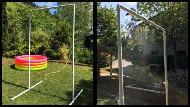 Pasos para hacer un túnel de agua para tu jardín