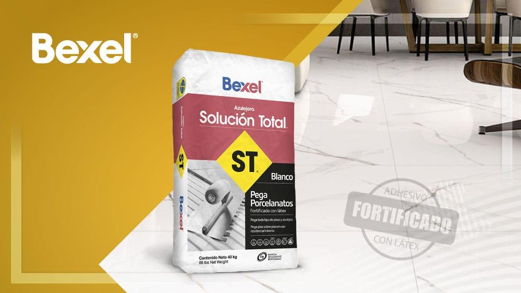 Adhesivo Bexel solución total para pegar el piso de tu hogar