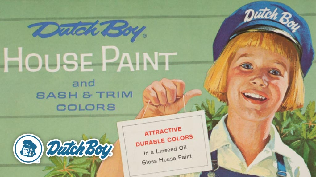 Dutch Boy la historia detrás de la marca líder en pinturas