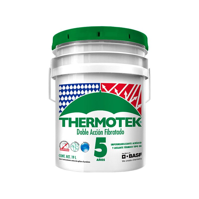 Sabes cómo aplicar un impermeabilizante acrílico Thermotek