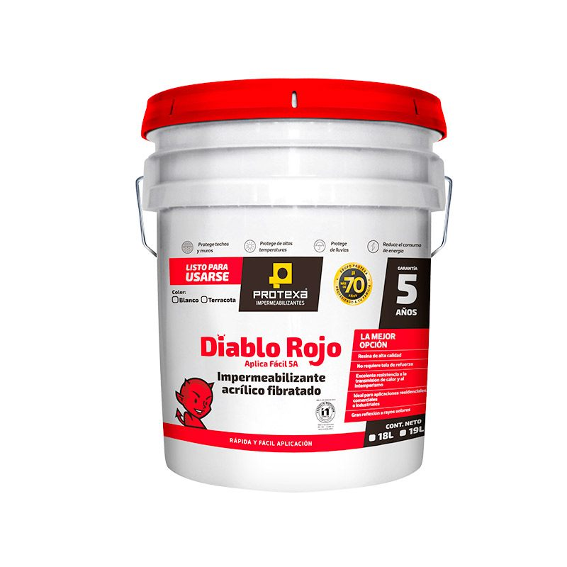 Cómo aplicar impermeabilizante diablo rojo como todo un experto