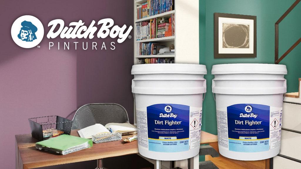 Beneficios de la pintura Dirt Figther de Dutch Boy