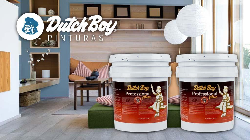 Beneficios de la pintura Professional Plus de Dutch Boy