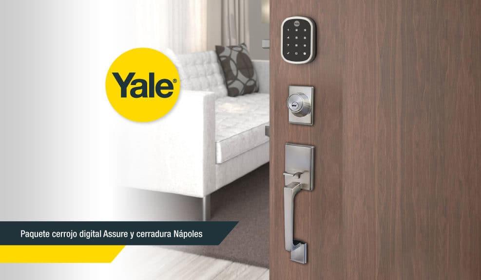 Pasos para instalar tu cerrojo Assure Lock de YALE