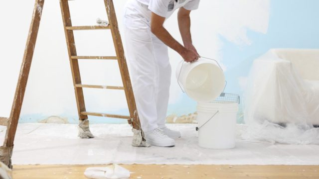 Cómo calcular la cantidad de pintura que requieres para pintar tu hogar